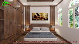 Thiết kế phòng ngủ biệt thự Vinhomes Imperia Hải Phòng