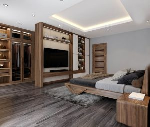 Thiết kế phòng ngủ Vinhome Cầu Rào 2