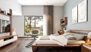 Thiết kế phòng ngủ Vinhome Hải Phòng