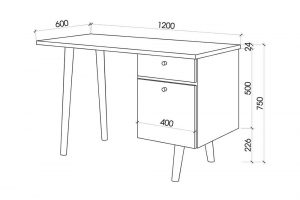 Chiều cao của bàn làm việc