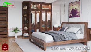 Tủ quần áo gỗ óc chó CT535