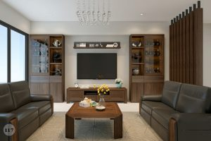 Tủ trang trí gỗ tự nhiên10