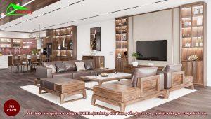 Tủ trang trí gỗ tự nhiên12