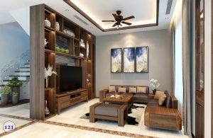 Tủ trang trí gỗ tự nhiên3