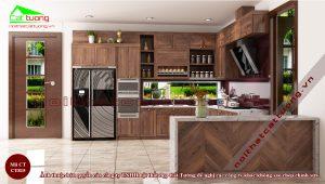 Mẫu tủ bếp đẹp nhất hiện đại