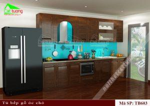 Tủ bếp gỗ11