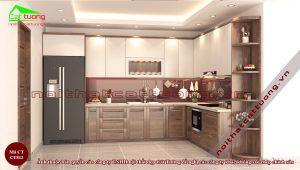 Tủ bếp gỗ13