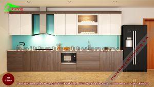 Tủ bếp gỗ14