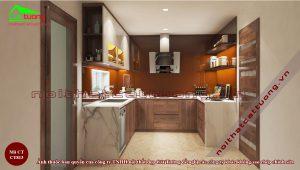 Tủ bếp gỗ18