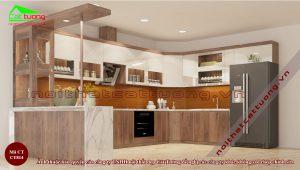 Tủ bếp gỗ6