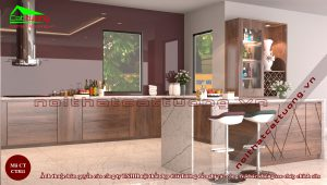 Tủ bếp gỗ9