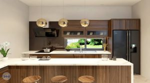 Tủ bếp nhỏ đẹp9
