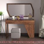 Giá bàn trang điểm gỗ tự nhiên