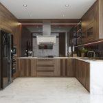 Giá tủ bếp gỗ tự nhiên đẹp