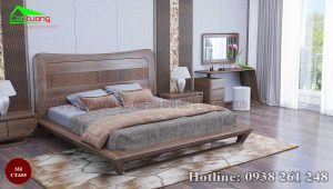 Táp đầu giường gỗ óc chó CTA05b