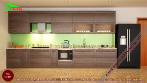 Tủ bếp nhỏ đẹp hiện đại