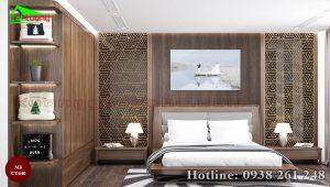 Giường gỗ óc chó CT640