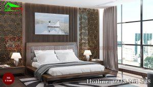 Giường gỗ óc chó CT640c