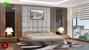 Giường gỗ óc chó CT641