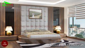 Giường gỗ óc chó CT641d