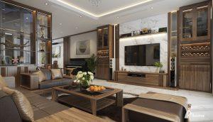 Mẫu bàn ghế sofa phòng  khách