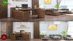 Sofa gỗ óc chó CT157b