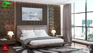 Táp đầu giường gỗ óc chó CTA06c
