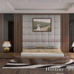 Táp đầu giường gỗ óc chó CTA07