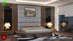 Táp đầu giường gỗ óc chó CTA07c