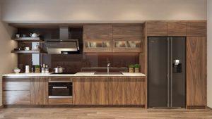 Thiết kế tủ bếp gia đình