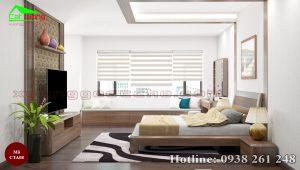 Táp đầu giường gỗ óc chó CTA08