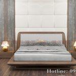 Giường ngủ gỗ óc chó CT643