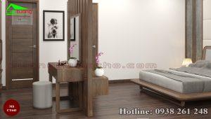 Giường ngủ gỗ óc chó CT643a
