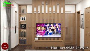 nội thất phòng ngủ gỗ sồi PN006b