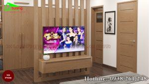 nội thất phòng ngủ gỗ sồi PN006c