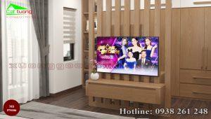 nội thất phòng ngủ gỗ sồi PN006d