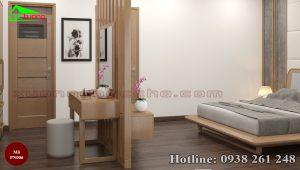 nội thất phòng ngủ gỗ sồi PN006f