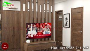 Tủ quần áo gỗ óc chó CT542c