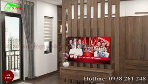 Tủ quần áo gỗ óc chó CT542d