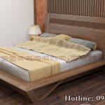 giường gỗ óc chó CT645