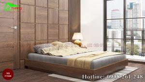 giường gỗ óc chó CT646