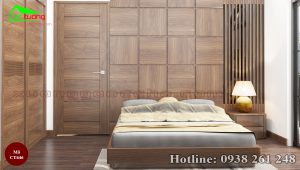 giường gỗ óc chó CT646a