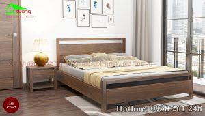 giường gỗ óc chó CT647