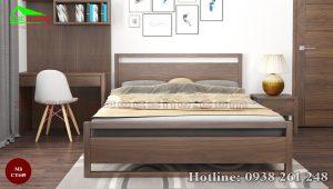 giường gỗ óc chó CT649b