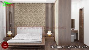 giường gỗ óc chó CT651b