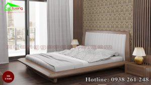giường gỗ óc chó CT651c