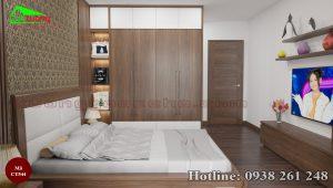 tủ quần áo gỗ óc chó CT544