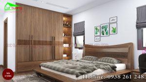 tủ quần áo gỗ óc chó CT551a