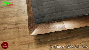 giường gỗ óc chó CT660c