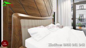 giường gỗ óc chó CT660e